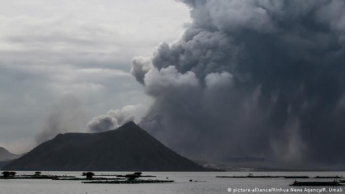 بركان تال الفلبين مانيلا