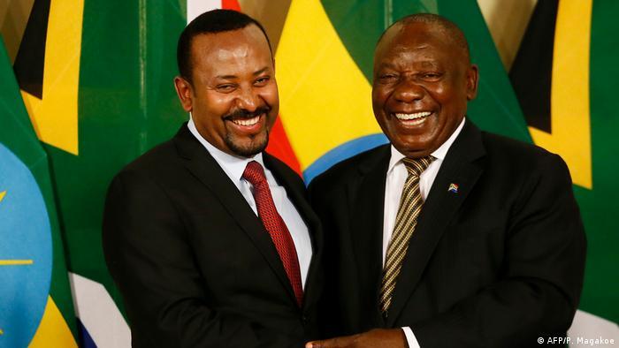 BG Grand Renaissance Dam | Treffen zwischen Äthiopiens Premierminister Abiy Ahmed Ali und Südafrikas Präsident Cyril Ramaphosa
