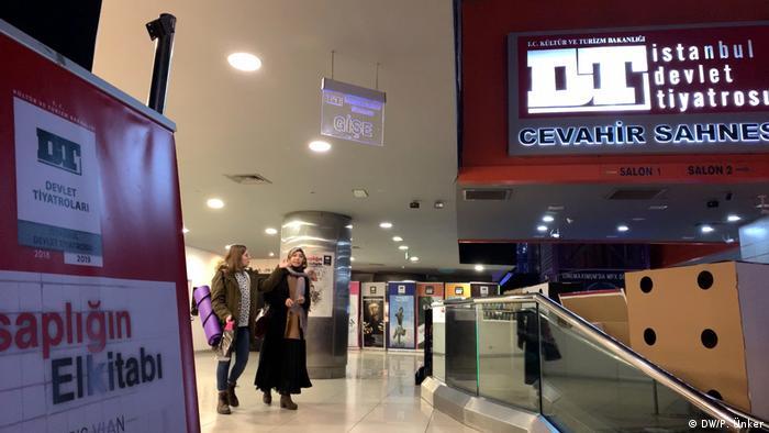 Türkei Staatstheater in Istanbul