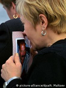 Дружина загиблого у катастрофі над Чорним морем штурмана Ту-154 Костянтина Ревтова