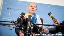 Olaf Scholz SPD (picture-alliance/dpa/K. Nietfeld)