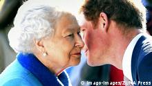 UK Queen Elizabeth II und Harry