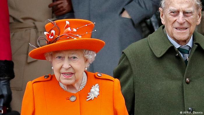Queen Elizabeth II. und ihr Ehemann Prinz Philip