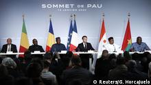 Frankreich l Macron wirbt für Sahel-Initiative