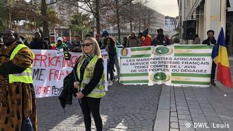 G5 Sahel Gipfel in Pau Protest gegen die französische Militärpräsenz in Afrika