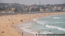 Australien Bondi Beach Smog Buschbrände
