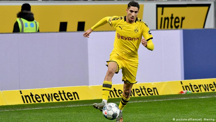 TSG Hoffenheim gegen Borussia Dortmund am 20.12.2019 in Sinsheim