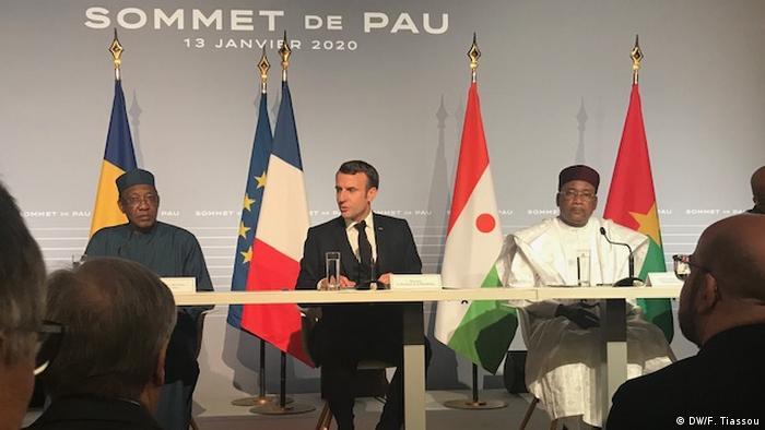 Frankreich G5-Sahel Gipfel in Pau