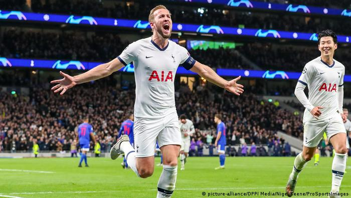 Champions League 2019 | Tottenham Hotspur vs. Olympiacos FC | Harry Kane (picture-alliance/DPPI Media/Nigel Keene/ProSportsImages)