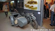 Wehrmacht Motorrad mit Beiwagen
