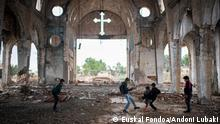Northeastern Syria, Jan. 2020+++Christian villages like Tel Nasri have been abandoned by their original population. Today it´s mainly IDPs from the besieged areas living there. (c) Euskal Fondoa/Andoni Lubaki