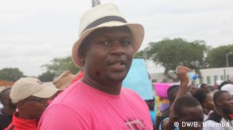 Angola Francisco Teixeira, Koordinator der Studentenbewegung, MEA