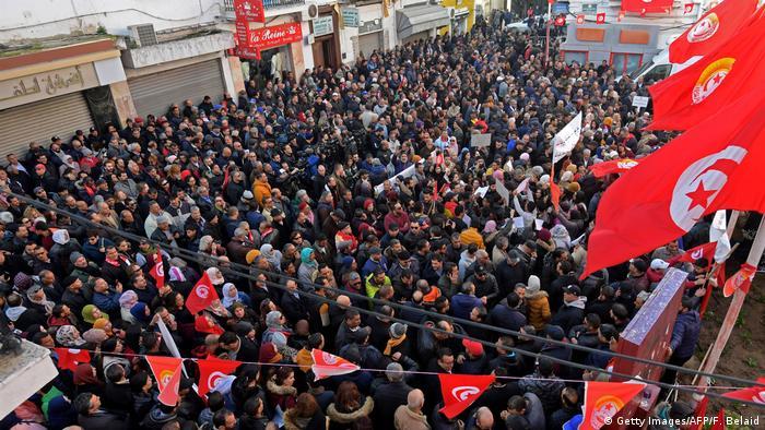 Tunesien Revolutionstag