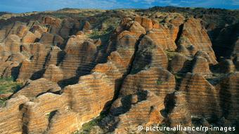 The UNESCO World Heritage-listed Purnululu National Park