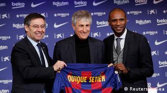 Fussball l Neuer Trainer bei FC Barcelona - Quique Setien