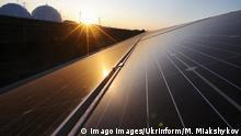 Ukraine Solaranlage bei Dnipropetrowsk