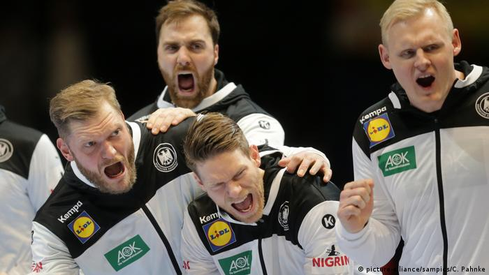 Handball Euro 2020 | Deutschland vs. Niederlande (picture-alliance/sampics/C. Pahnke)