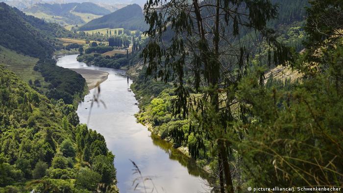 Río Whanganui de Nueva Zelanda.