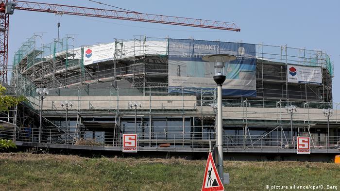 construction site Beethovenhalle Bonn