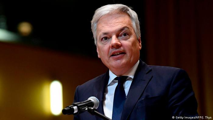 Unijny komisarz ds. sprawiedliwości Didier Reynders