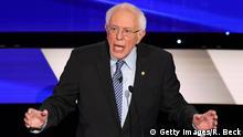 Iowa, Des Moines: CNN - Präsidentschaftskandidaten der Demokraten
