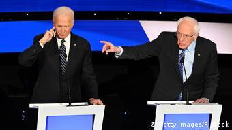 Iowa, Des Moines: CNN - Präsidentschaftskandidaten der Demokraten (Getty Images/R. Beck)