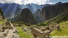 Peru: Templo del Sol in Machu Picchu