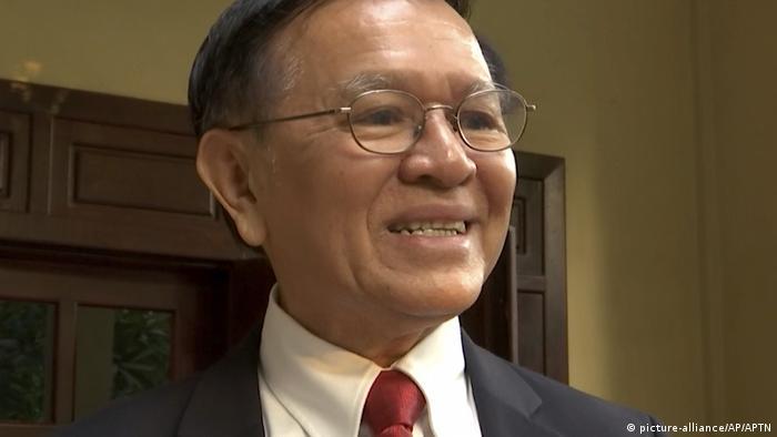 Kem Sokha seen before his trial