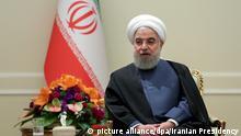 Teheran Hassan Ruhani Präsident Iran