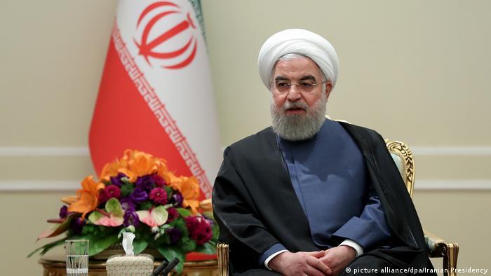 Teheran Hassan Ruhani Präsident Iran (picture alliance/dpa/Iranian Presidency)