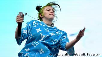 Billie Eilish (picture-alliance/dpa/B. Pedersen)