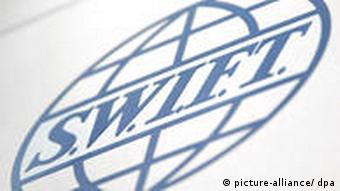 The SWIFT logo Photo: Fredrik von Erichsen dpa