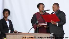 Mosambik Amtseinführung Filipe Nyusi