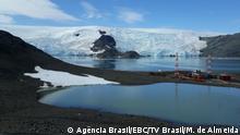 Estação Comandante Ferraz, Brasilianische Basis in der Antarktis Datum: 15.01.2020 Copyrigh: Mauricio de Almeida/ TV Brasil Estação Comandante Ferraz, base de pesquisa do Brasil na Antártica