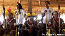 Brasilien Treffen der Indigenen Völker in Mato Grosso