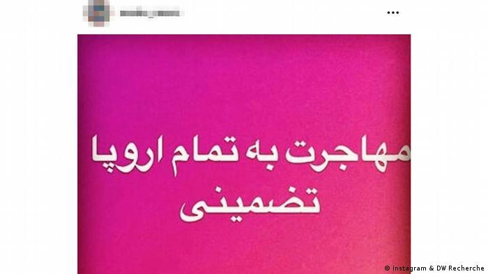 Tüm Avrupa'ya göç, garantili ifadesi de kaçakçıların Instagram hesaplarında görülen ifadelerden.
