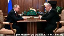 Putin schlägt Michail Mischustin Chef der Steuerbehörde als Regierungschef vor