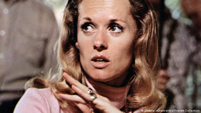 Filmstill: Setfoto von Tippe Hedren in dem Kinofilm The Harrad Experiment (1973) (picture -alliance/dpa/Everett Collection)