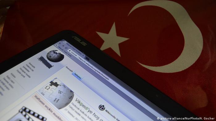 Turkish Wikipedia page