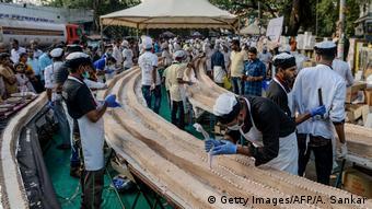 Indien Weltrekord-Kuchen in Thrissur
