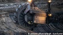 Deutschland Braunkohle-Tagebau Hambach