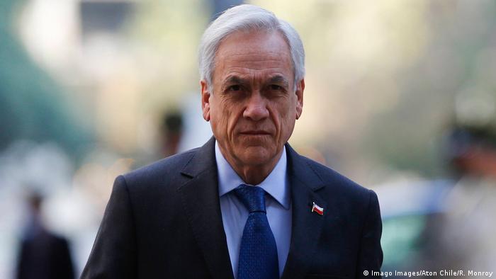 Multan a presidente chileno con 3.400 dólares por no usar ...