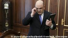Leiter der russischenSteuerbehörde Mischustin