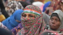 Indien | Neu-Dehli | Protest von Muslimischen Frauen