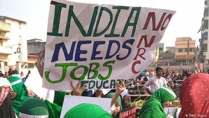 Indien | Jharkhand | Protest von Muslimischen Frauen