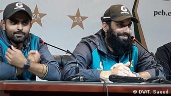 Pakistan Cricket PK Misbah-ul-Haq und Babar Azam