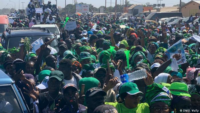 Gambia Banjul Protest