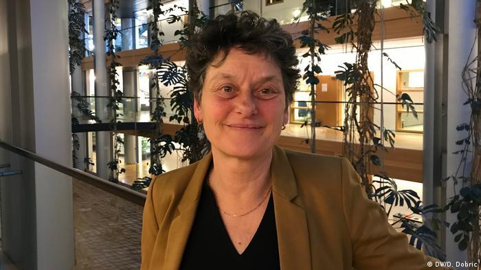 Tineke Strik (Grüne), Europaabgeordnete aus Niederland in Straßbourg