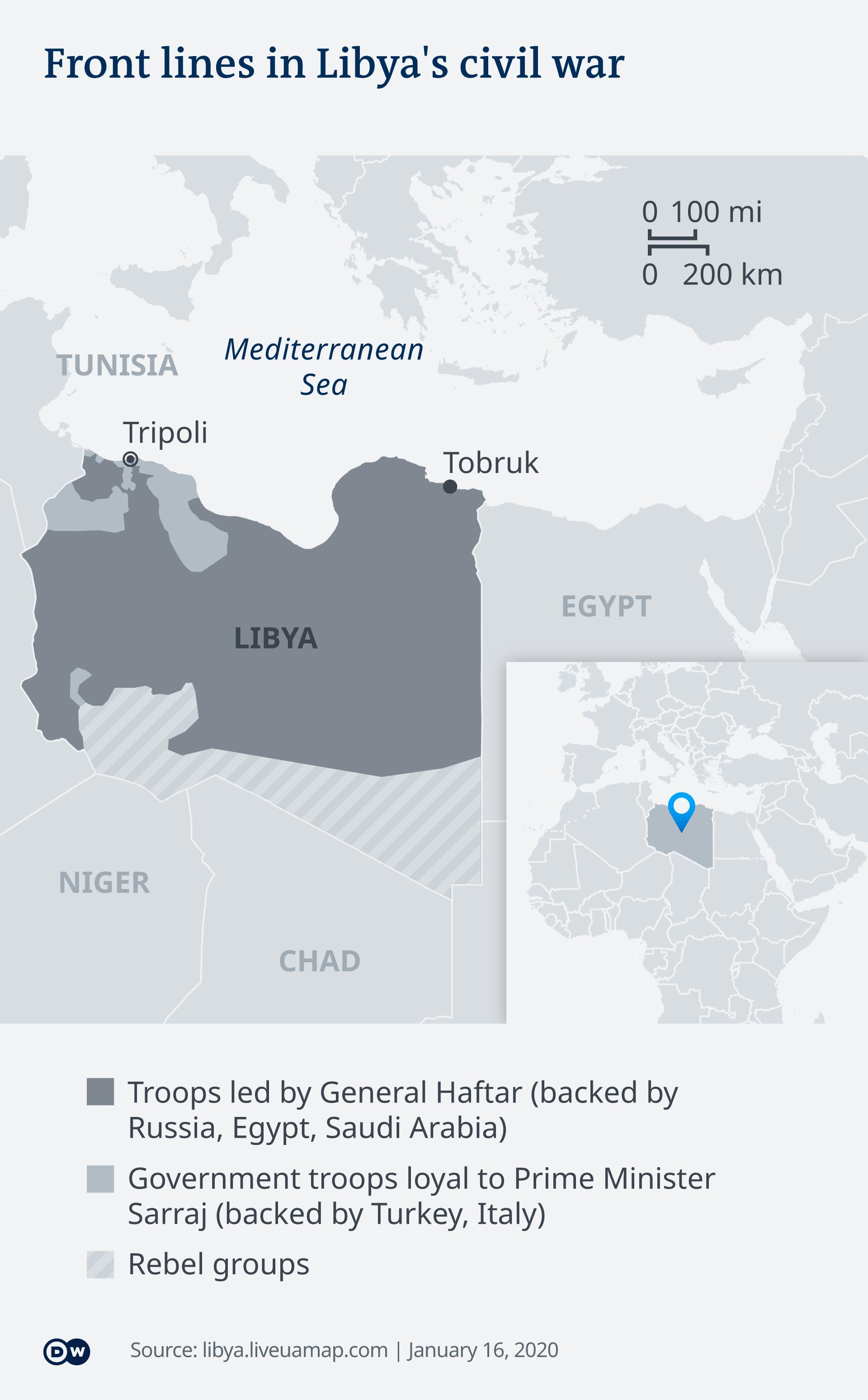 Zemljovid Libije (Bitte stattdessen 599316 verwenden)
