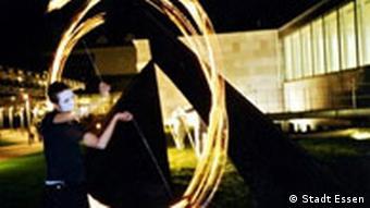 Essen: Performance an der Folkwang-Hochschule